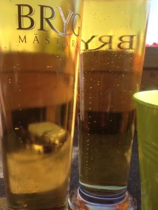 Starköl i två glas
