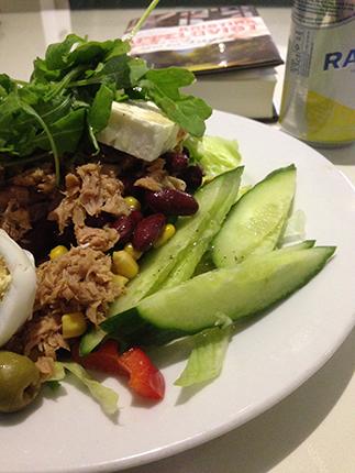 Kurres grekiska sallad är i själva verket en specialsallad.