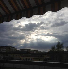 Himmel motljus