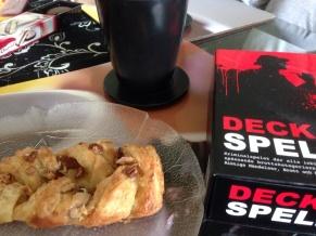 Wienerbröd kaffe Deckarspelet