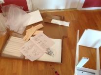 Montering av IKEAmöbel