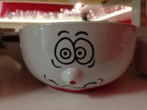 En groggy kopp.