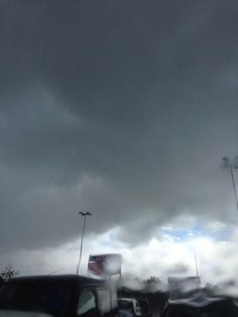 Regntung sky