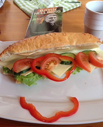 Lunchbaguette med Paria