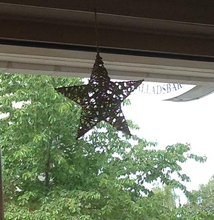 Stjärna i fönstret den 27 juni 2014