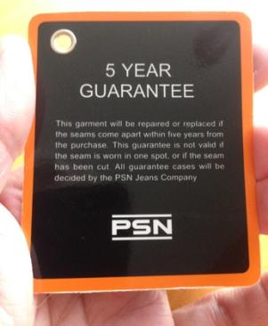 Fem års garanti