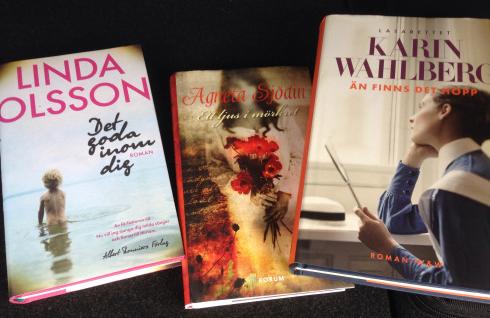 Tre böcker från Myrorna
