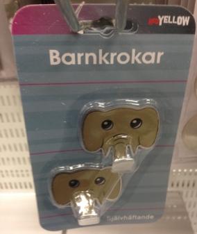 Barnkrokar elefanter