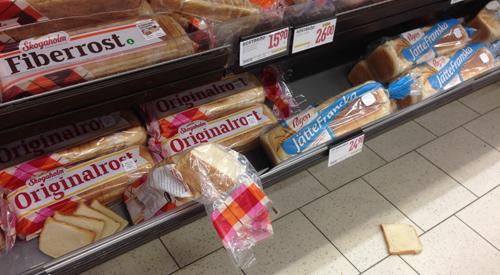 Bröd på rymmen på Tokerian