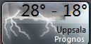Dagens  första väderprognos