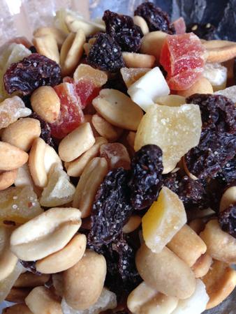 Frukt och nötter