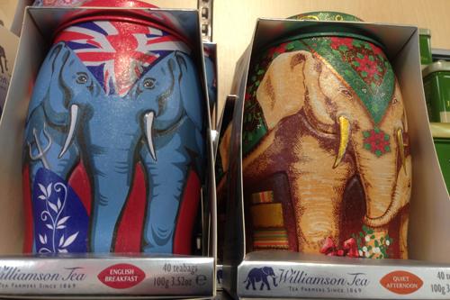Teburkar som elefanter