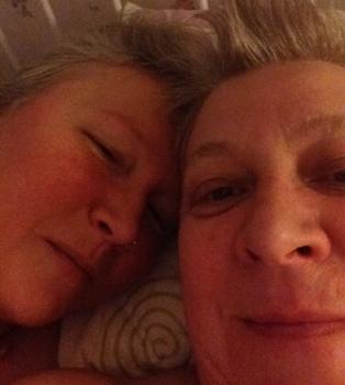 Anna o jag den 28 september 2014 selfie