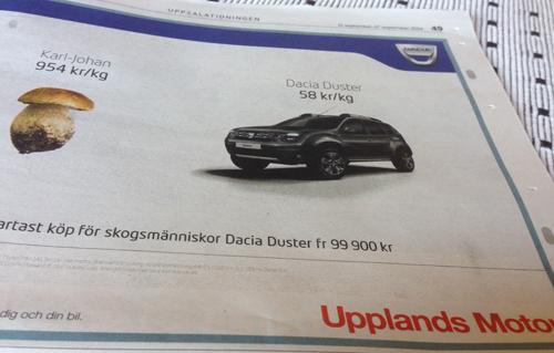 Annons Upplands Motor