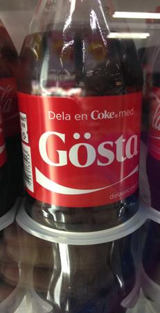 Gösta coca cola