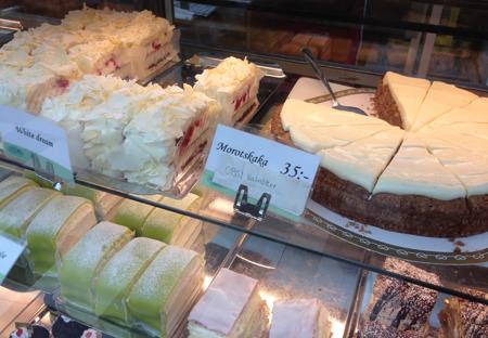 Goda kakor bakelser och tårtor