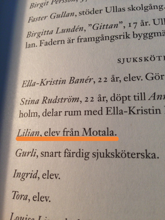 Lilian elev från Motala