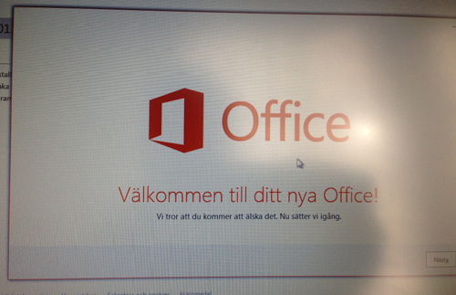 Officeinstallation
