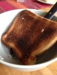 Bränt rostbröd