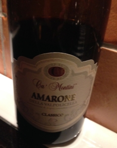 Ca Montini Amarone
