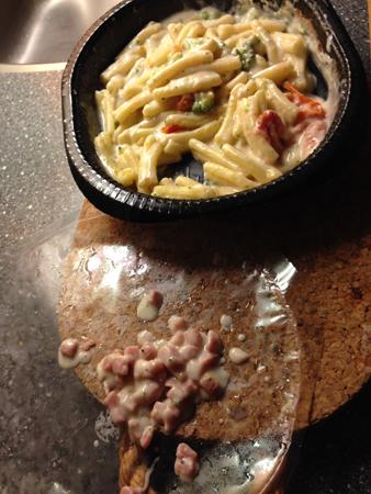 Findus pasta m fyra ostar utan skinka