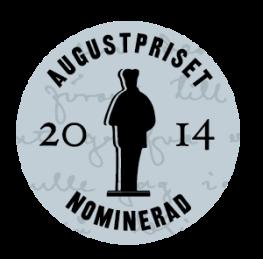Medalj nominerad Augustpriset 2014