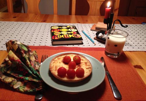 Ostpaj tomater mjölk bok