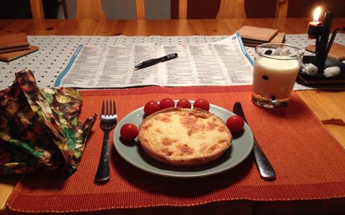 Ostpaj tomater mjölk TV-tidning