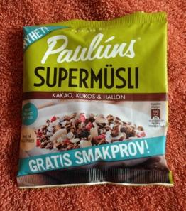Pauluns supermüsli m kakao kokos o hallon