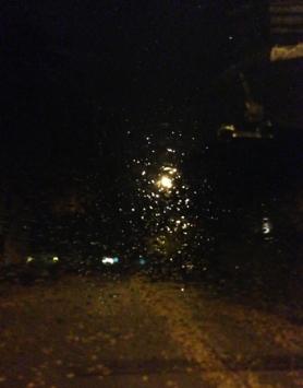 Regnig höstkväll
