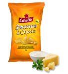 Sourcream and cheesechips