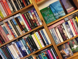 Böcker hos Alfa.