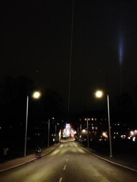 Laserstrålen Carolinabacken