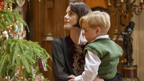 Downton Abbey lady Mary och George foto Nick Briggs NBC