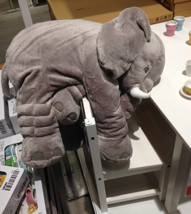 Hängig elefant