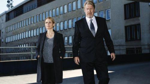 Helena af Sandegård och Rolf Lassågård i Den fjärde mannen