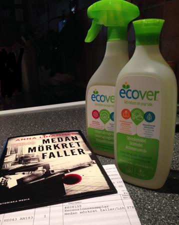 Medan mörkret faller och Ecoverprodukter