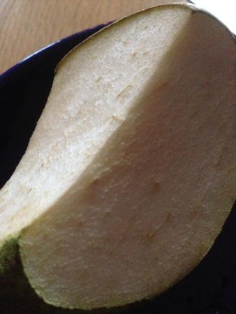 Ett kvarglömt päron