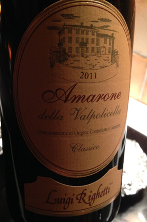 Amarone 2011 Luigi Righetti