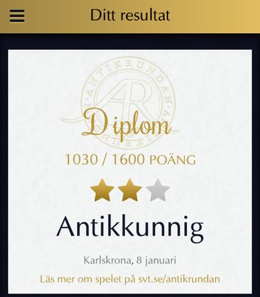 Antikkunnig i Karlskrona