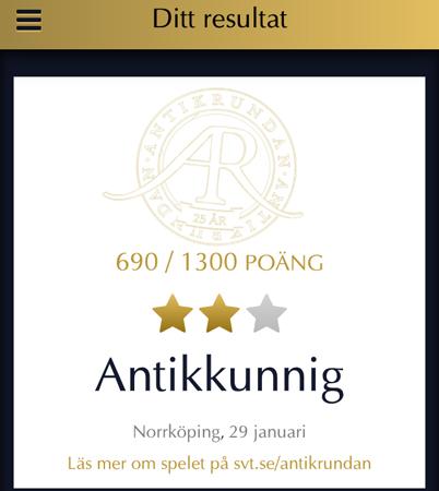 Antikkunnig i Norrköping