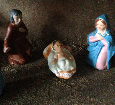 Josef Jesusbarnet och Maria