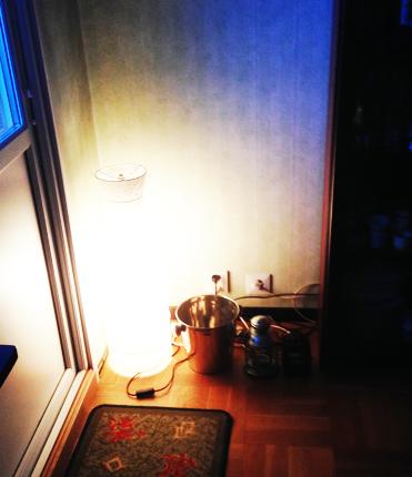 Lampa champagnehink lyktor