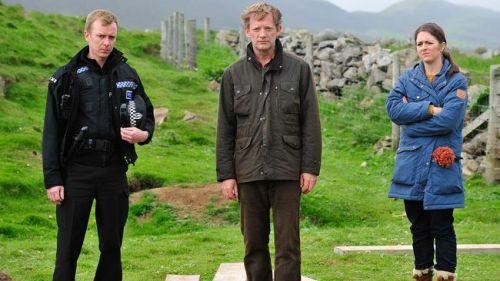 Shetland Sandy Jimmy och Alison