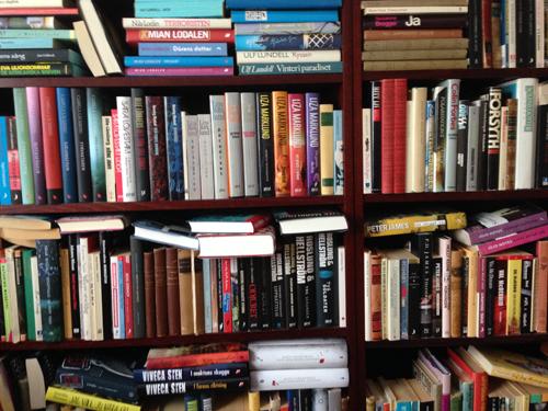 En bråkdel av mina böcker