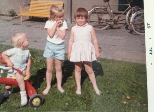 Pojken Per, jag och Lena Kling Kling