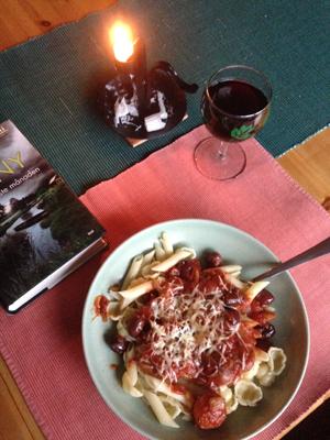 Fredagsmiddag Pasta Diavolo à la Toffolo