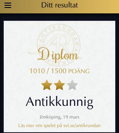 Antikkunnig Jönköping 19 mars 2015