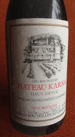Hemtrampat vin från sep 2006