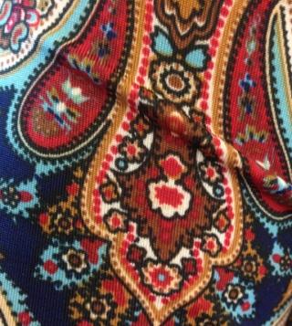 Paisleymönstrat klädesplagg